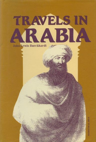Travels in Arabia by JOHANN LUDWIG BURCKHARDT
