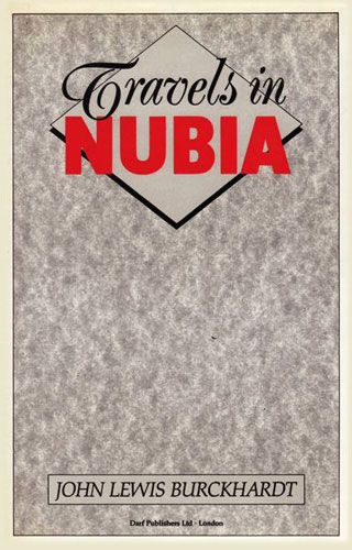 Travels in Nubia by JOHANN LUDWIG BURCKHARDT